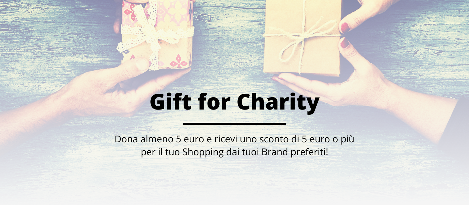 Gift for Charity